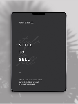 NEW: Style to Sell E-Book