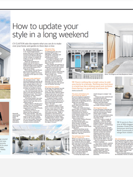 Featured in The West Australian - How to update your style in a long weekend.