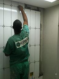 Revestindo as paredes