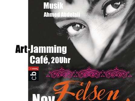 27.11.15: Art Jamming Café, Freiburg Lesung mit Musik 20.00 Uhr