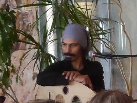18.06.: 19.30 Musikalische Lesung in der Brotfabrik, Berlin, Jasmin Adam und Hadji Ahmed Abdelali
