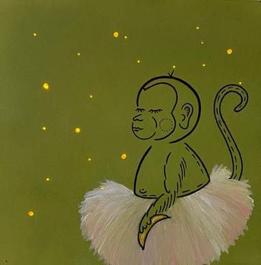 Affe Nachtlicht