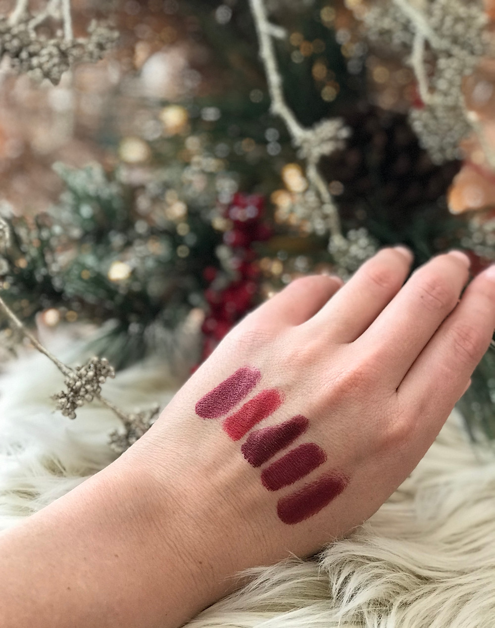 My Top 5 Holiday Lips