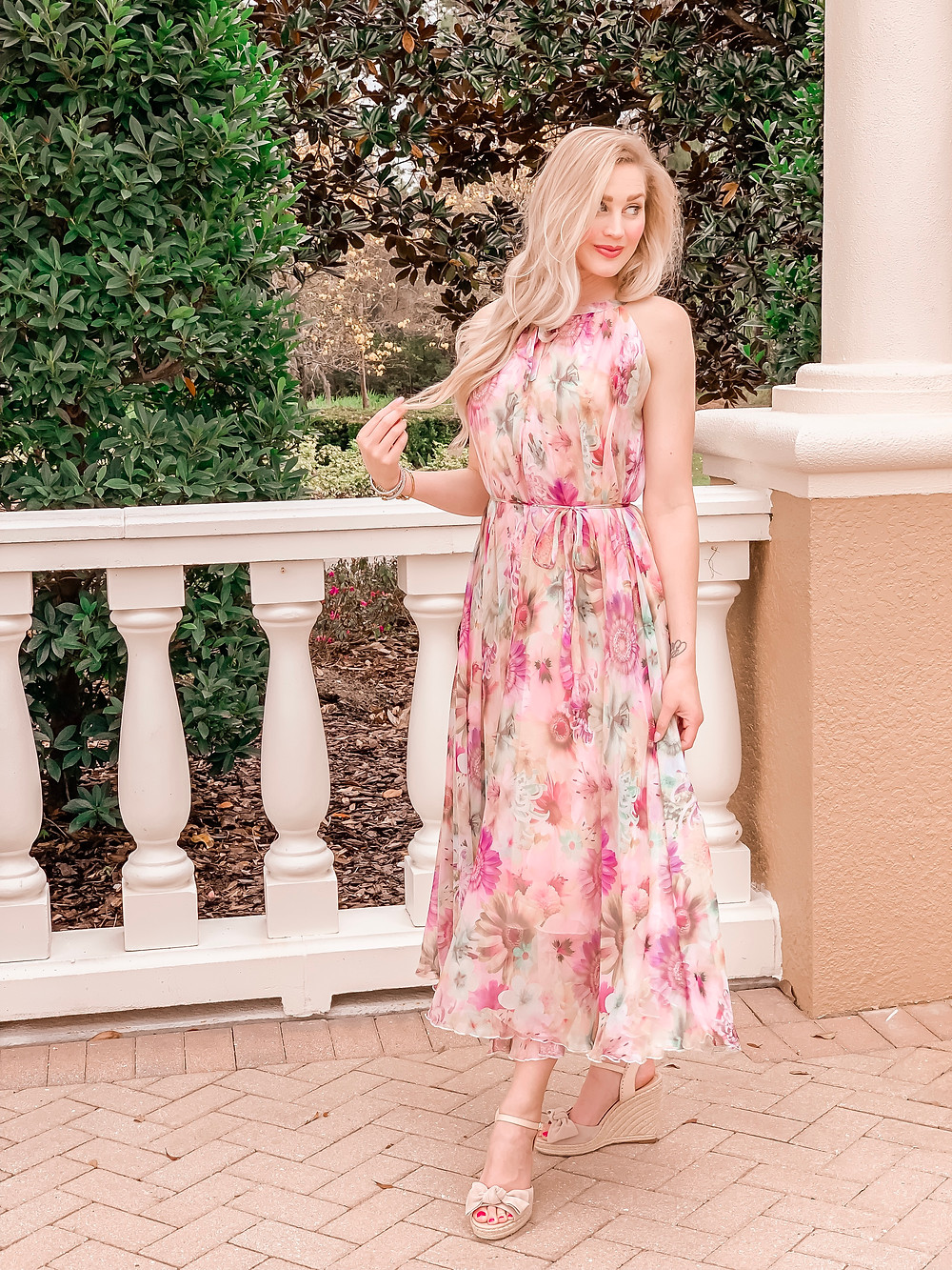 The Perfect Spring Maxi Dress