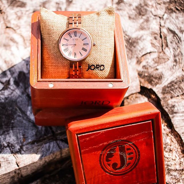 Jord Wooden Watches + Giveaway