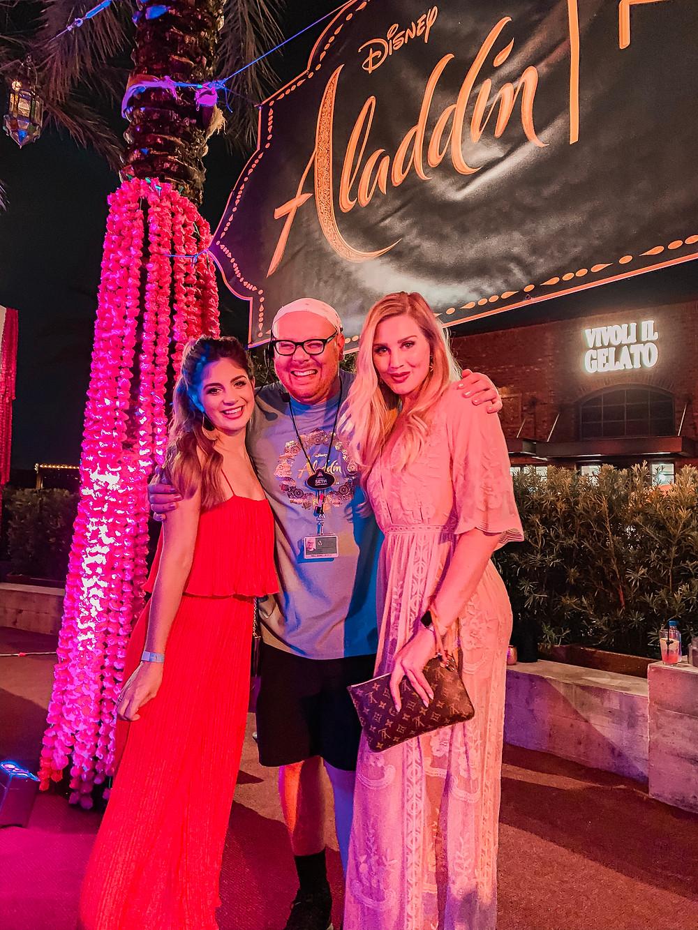 Disney Aladdin Premiere + Giveaway