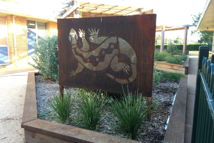 Hillvue Public School, Sensory Garden
