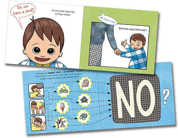 Simon and Schuster picture book How To Negotiate Everything by Lisa Lutz and Jaime Temairik