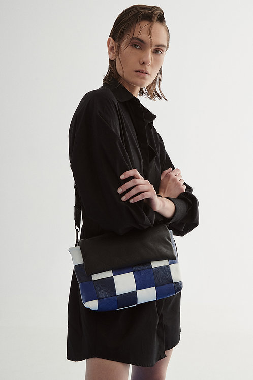 Colourblock Quilted Shoulder Bag, HugBags