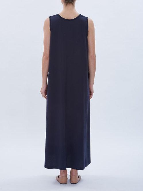 Black Cotton Dress,Parthenis