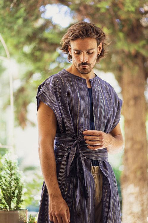 Dante Pyrgos Kimono Blue