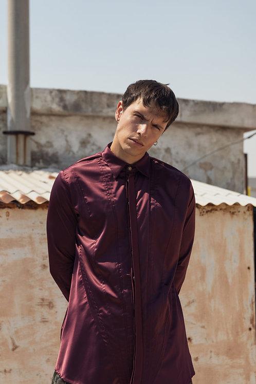 Dante Shirt Bordeaux