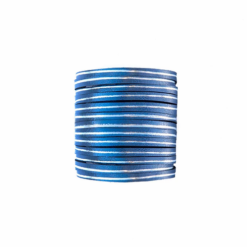 Tressa Bracelet Deep Blue, Leather Trinkets