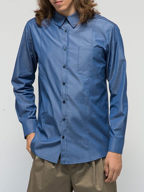 Parthenis Cotton Shirt Blue