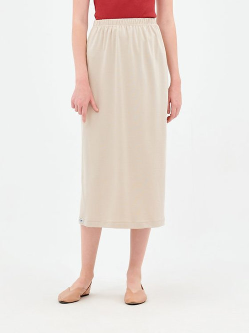 Parthenis Cotton Skirt Beige