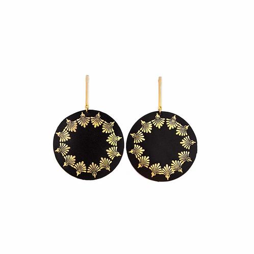 Acroceramus Earrings, Leathern Trinkets