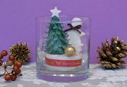 石鹸彫刻/グラスのアレンジメント