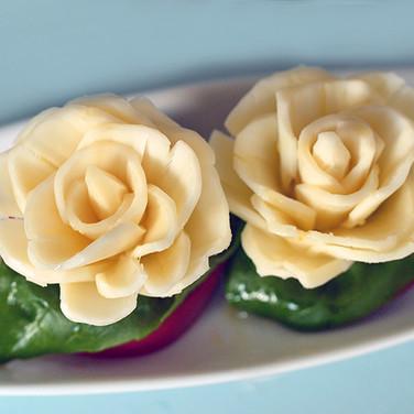 Cheese / チーズのバラ