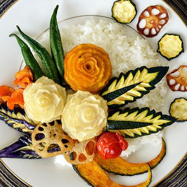 curry and rice / カレーライス