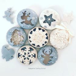 石けん彫刻 / ソープカービング/クリスマス