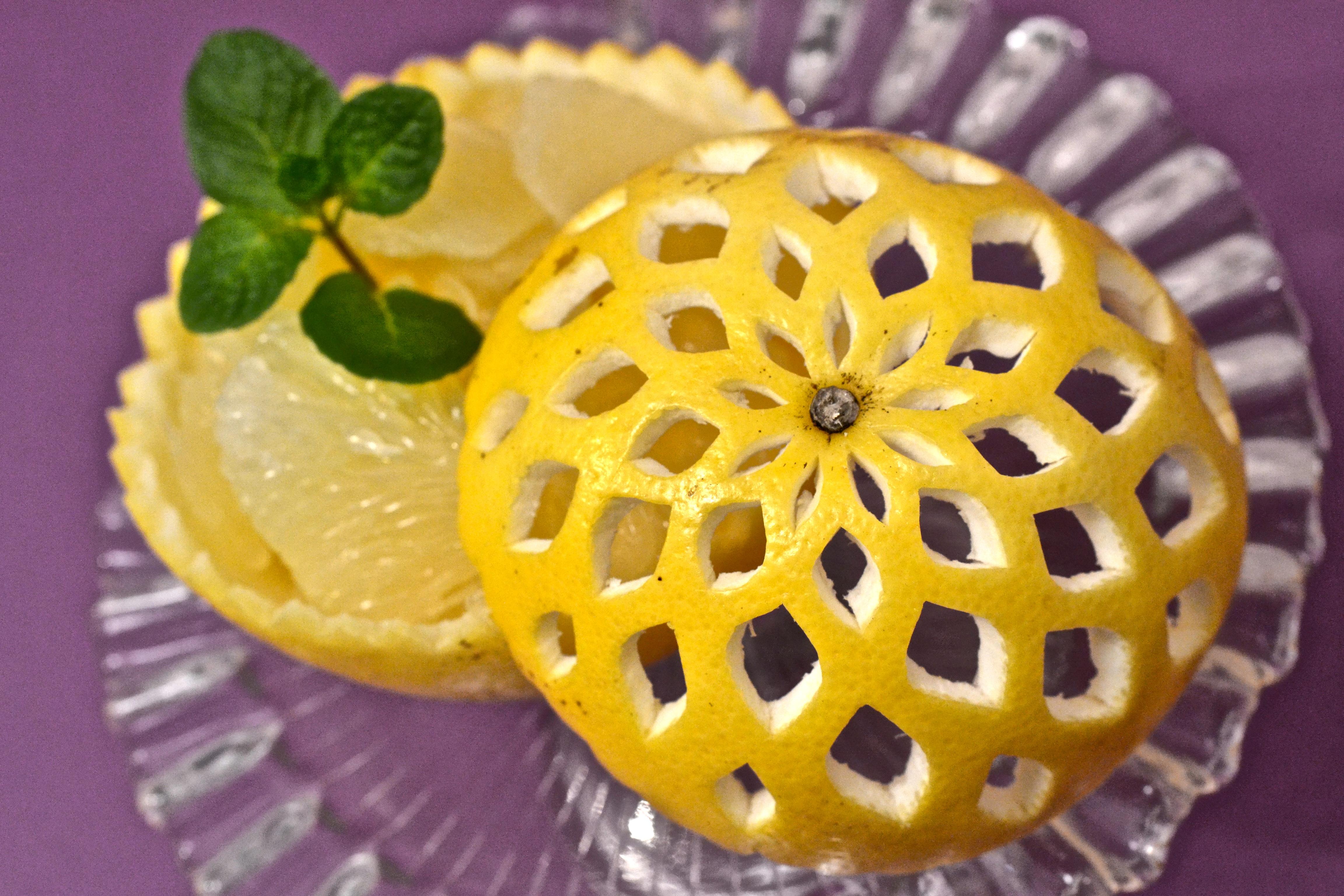 野菜彫刻/グレープフルーツ