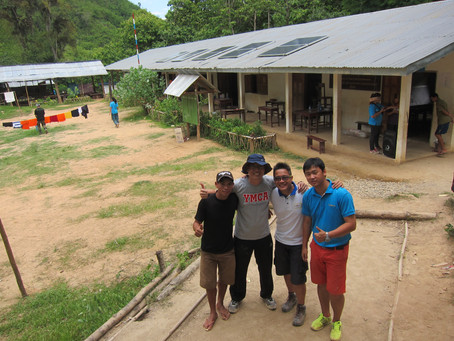 First Earthlink NTU Student Solar Project in Laos/Luang Prabang by MyLaoHome and partners 2014