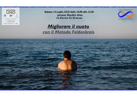 Migliorare il nuoto col Metodo Feldenkrais, Siracusa