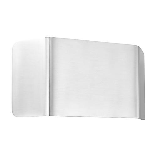Verona 1lt wall 9W warm white Polished Aluminium