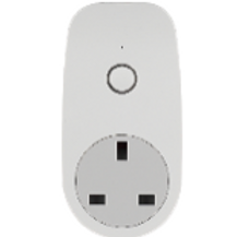 TCP Smart WiFi Socket Single White UK