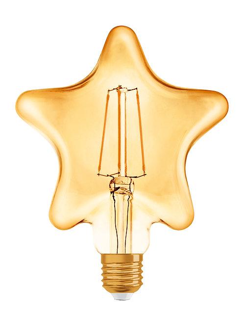 Vintage 1906 LED CL STAR  FIL GOLD 40 non-dim  4,5W/825 E27
