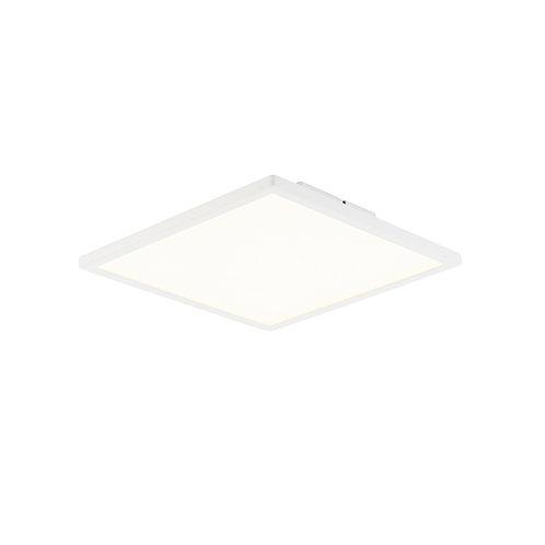 Ceres 250mm square flush 10W warm white White & Opal Plastic