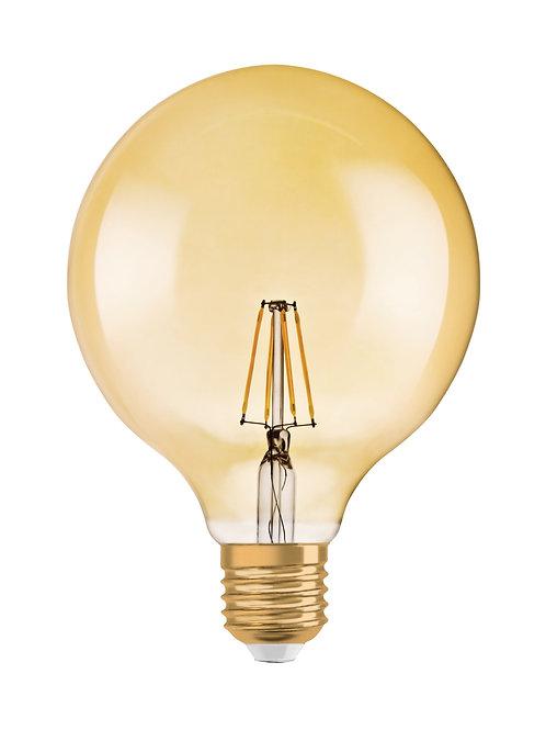 Vintage 1906 LED dim CL GLOBE125  FIL GOLD 55 dim  7,5W/825 E27