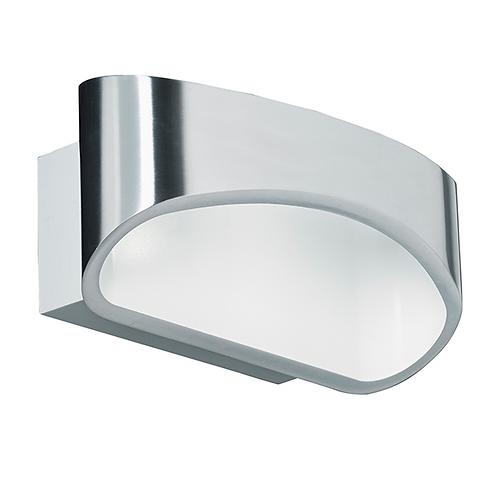 Johnson 1lt wall 5W warm white Polished Aluminium