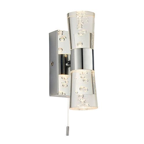 Rocco 2lt wall IP44 2W SW warm white