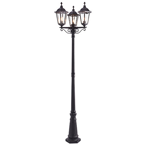 Burford lamp post IP44 60W