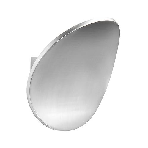 Cassa 1lt wall 5W warm white Polished Aluminium