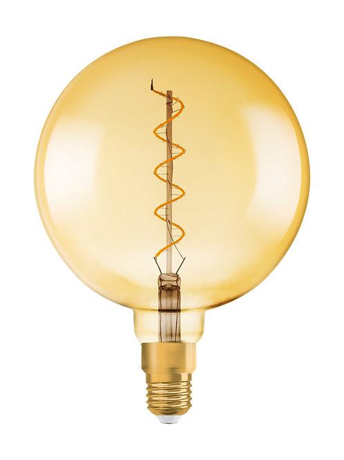 Vintage 1906 LED CL GLOBE200  FIL GOLD 28 non-dim  5W/820 E27