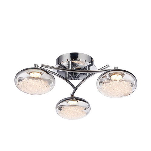 Oria 3lt semi flush 3W warm white