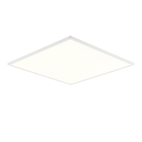 Ceres 450mm square flush 30W warm white White & Opal Plastic