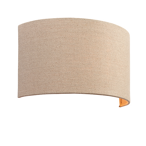 Obi 1lt wall 40W Natural Fabric