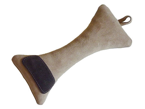Bone Suede Leather Toy - Brown
