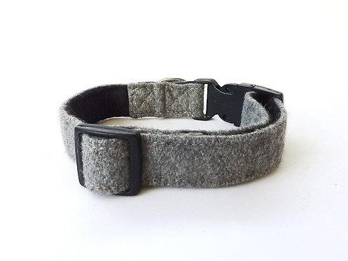 Grey Wool Collar - Medium