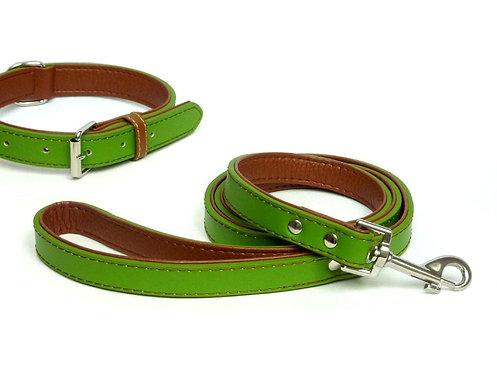 Fusion Lime Leather Lead
