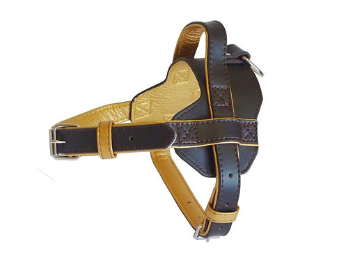 Fusion Brown Harness - Large