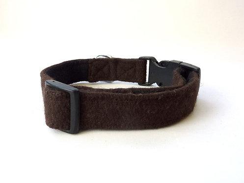Brown Wool Collar - Small