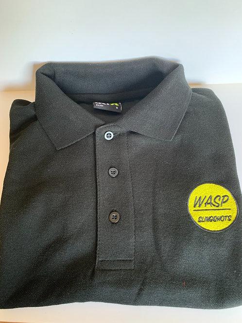 Black Wasp Polo Shirt