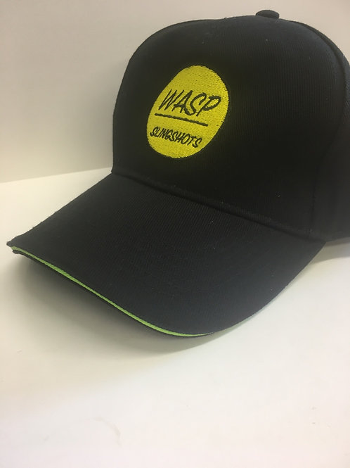 Wasp - Black Cap Green Trim
