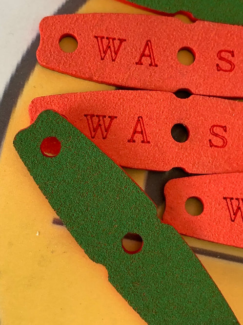 Black - Yellow or Red / Green- Wasp Pouches  55 x15  ( 8 pack).