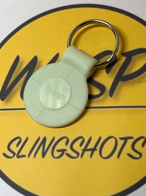 Wasp Glow in the Dark Key Ring