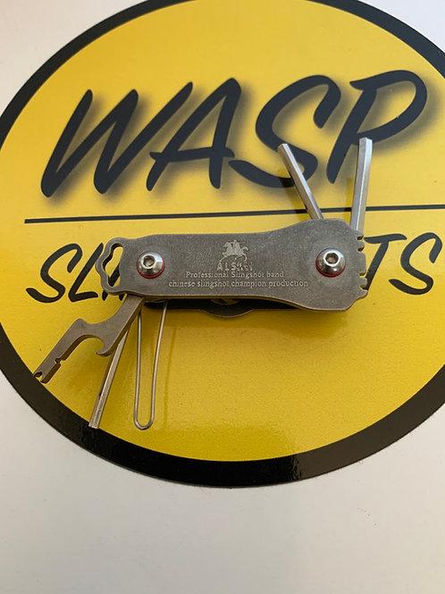 Slingshot Multi-tool - Stainless Steel- Handy Tool